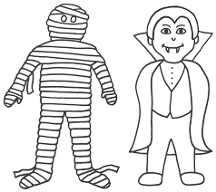 Small Picture Free Printable Halloween Coloring Pages For Kids Archives