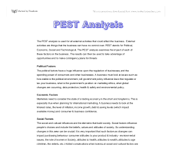 the pest analysis used for all external activities that could  document image preview