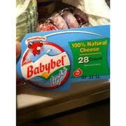 babybel mini babybel light 28 count