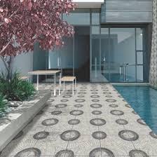 Patio Parking Floor Tiles