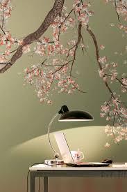 Behaglich Tapete Mit Kirschzweigen Bedruckte Tapeten Blumen