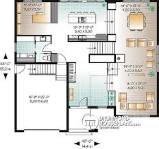 modern floor plans. Modern House Plan - Main Floor Plans