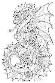 Dragon Coloring Pages Dragon City Coloring Pages Flying Dragon