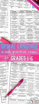 Daily Grammar Review   Grammar review, Morning work and Language arts