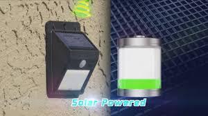 jml everbrite wireless solar powered outdoor light
