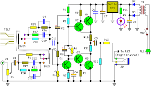 circuit diagram of class a amplifier the wiring diagram audio amplifier circuit page 20 audio circuits next gr circuit diagram