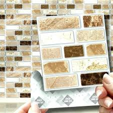 self stick wall tiles wall tile stickers stone tablet stick on self adhesive wall tile stickers