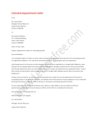 Interview Appointment Letter Pinterest Writing Help Students