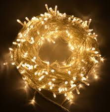 Warm White Light String Shatchi 300 Leds 35m Warm White Indoor Outdoor String