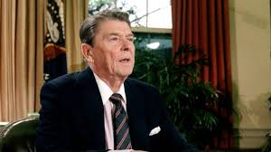 the story behind ronald reagan s challenger disaster speech us president ronald reagan in the oval office of the white house after a televised address