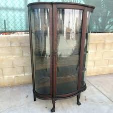 display shelves modern china cabinet curio cabinets for hamster cage antique curved glass curio on antique cabinets