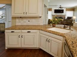 Glazed White Kitchen Cabinets Kitchen Antique White Kitchen Cabinets With Interior Large White