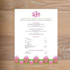 What To Include On A Sorority Resume Sorority Resumes Social