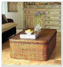 wicker cofee table outdoor wicker coffee table ottoman ite rattan patio small ite wicker coffee table