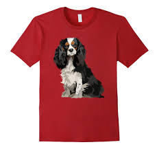 cavalier king charles spaniel gifts dog pop art t shirt rt