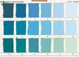 Unison Pastel Color Chart Unison Blue Green Soft Pastels 1 To 18 Shades Bg 9 5cm