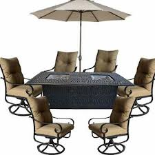 propane fire pit dining table set 9