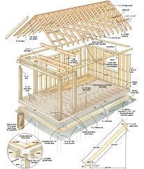 log cabin plan 1