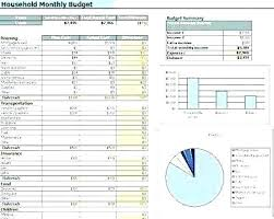 Home Budget Spreadsheet Excel Home Budget Spreadsheet Template Excel Expenses Free Monthly