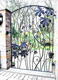 Decorative Metal Gates Design Cool Decorative Garden Gates Metal Garden Gates Design Ideas Wrought Iron