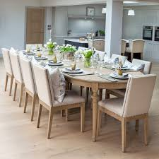 Brunswick Extending Oak Dining Table La Residence Interiors