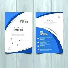 Catalog Template For Word Simple One Page Brochure Template Free 488 Word To 48 Templates Baniocha
