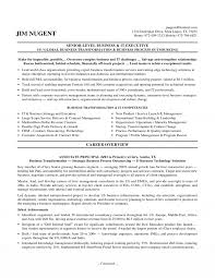 It Executive Resume