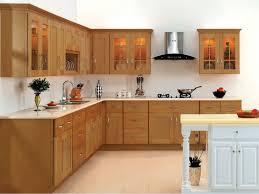 Cream Kitchen Cabinet Doors Fresh In Best Brown Maple Wood Kitchen ...
