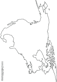 Coloring North America Map Coloring Page