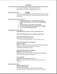 Resumes For Security Officers Job Resume Samples Format Officer