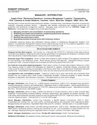 Warehouse Manager Resume Summary Typical Warehouse Logistics Manager Resume Sample Logistics Manager 8