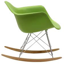 Rocking Chair Modern amazon modway molded plastic armchair rocker in green 7567 by guidejewelry.us