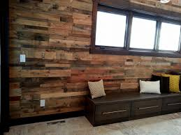 pallet wood garage wall. shipping pallet wall paneling wood garage e