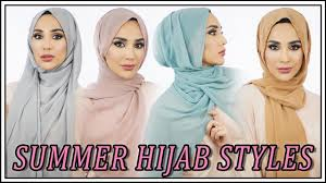 12 <b>Easy</b> Summer Hijab <b>Styles</b> | Amena - YouTube