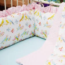 love birds baby crib bedding