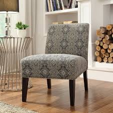 Inspire Q Blue Print Fabric Lounger Chair - Rich Espresso | from  hayneedle.com. Accent ChairsLiving Room ...