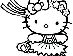 Hello Kitty Coloring Pages Free Hello Kitty Coloring Pages Hello