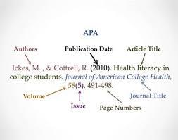 Citation Apa Format Pin By Oscar Schwartz On Education Apa Essay Apa Writing