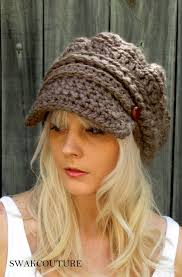 Crochet Newsboy Hat Pattern Mesmerizing Crochet Newsboy Hat Pattern Pinterest Zip