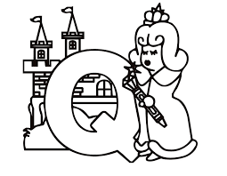 Small Picture Letter Q Coloring Pages GetColoringPagescom