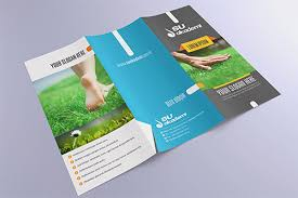 Fold Flyer 30 Creative Examples Of Tri Fold Brochure Designs Naldz Graphics