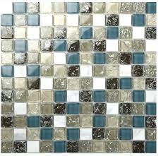 glass tile sheets decoration silver stainless steel glass blend metal tile sheets diamond regarding glass mosaic