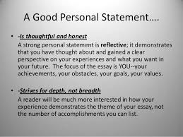 personal statement for college applications   personal statement     College Personal Statement Essay