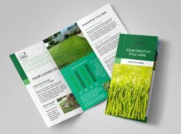 Lawn Care Brochure Lawn Mowing Brochure Template Mycreativeshop