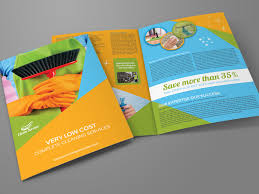 Cleaning Brochure Cleaning Services Bi Fold Brochure Template By Owpictures On