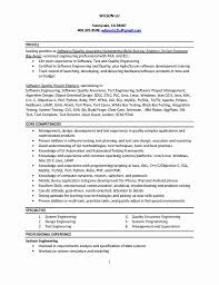 System Test Engineer Sample Resume 24 Beautiful Resume Format For Software Tester Resume Format 24 12