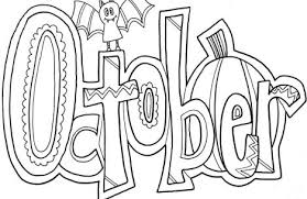 Small Picture october coloring pages Just Colorings