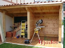 EcoTejados.com | Proceso De Construcción De Una Caseta De Madera ...