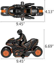 360° Spinning Action Rotating Drift Stunt <b>Motorbike</b> 2WD <b>High</b> ...