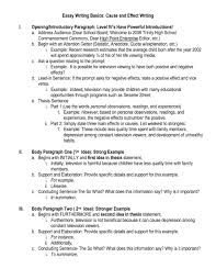 Cause And Effect Essay Samples Cause And Effect Essay Samples College Applydocoument Co